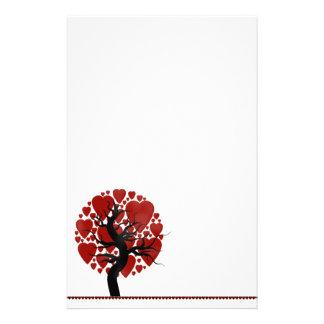 Tarjeta del día de San Valentín inmóvil Papeleria Personalizada