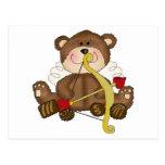 tarjeta del día de San Valentín linda del dulce Postal