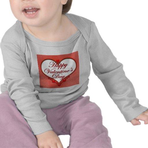 Tarjeta del día de San Valentín moldeada del Camiseta