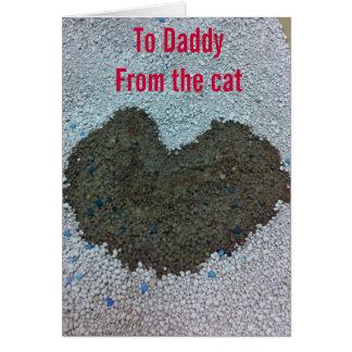 Tarjeta del día de San Valentín para el papá del g