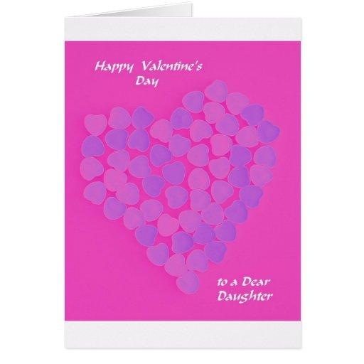 Tarjeta del día de San Valentín para la hija -- Ca