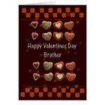 Tarjeta del día de San Valentín para la tarjeta de
