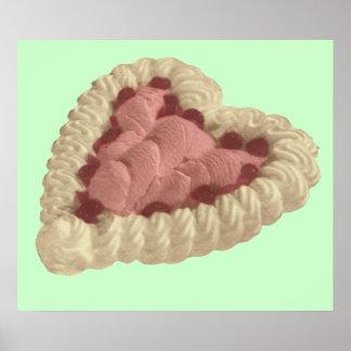 Tarjeta del día de San Valentín Pavlova Impresiones