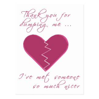 Tarjeta del día de San Valentín que insulta