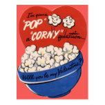 Tarjeta del día de San Valentín retra de las Postal
