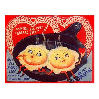 Tarjeta del día de San Valentín retra de los Tarjeta Postal