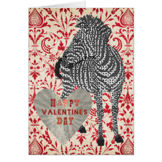 Tarjeta del día de San Valentín roja de Zenya