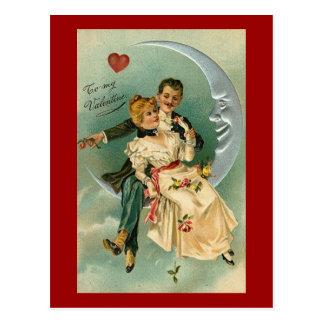 Tarjeta del día de San Valentín romántica del Postal