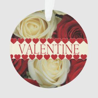 Tarjeta del día de San Valentín romántica roja