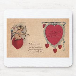 Tarjeta del día de San Valentín siniestra Alfombrilla De Ratones