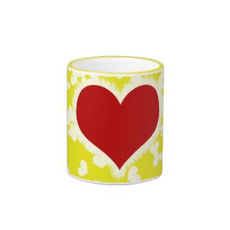 Tarjeta del día de San Valentín Taza De Café