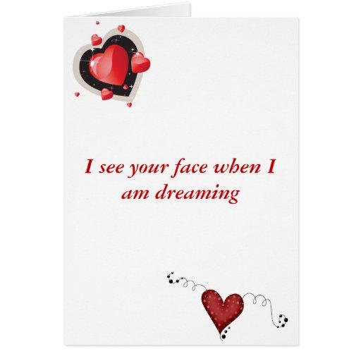 Tarjeta del día de San Valentín torcida