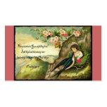 Tarjeta del día de San Valentín Unfailing del amor Plantilla De Tarjeta De Negocio
