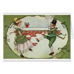 Tarjeta del día de St Patrick irlandés de la plant