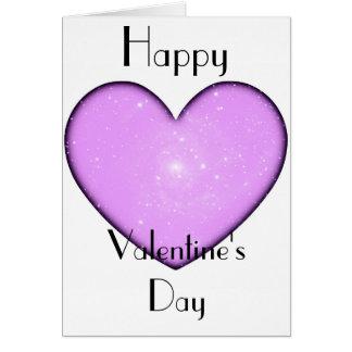 Tarjeta del día de Valenine universal del corazón