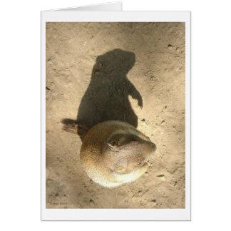 Tarjeta del día del cerdo de tierra