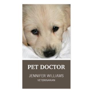 Tarjeta del doctor visita del perro de Groupon Tarjetas De Visita