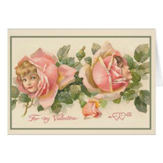 Tarjeta del el día de San Valentín