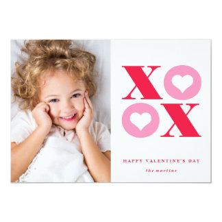 """tarjeta del el día de San Valentín de la foto del Invitación 5"""" X 7"""""""