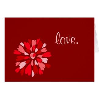 Tarjeta del el día de San Valentín de la momia del