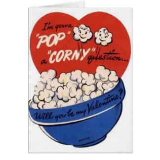 Tarjeta del el día de San Valentín de las palomita