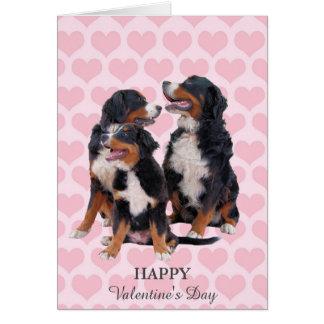 Tarjeta del el día de San Valentín de los