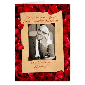 Tarjeta del el día de San Valentín de Michel Fouca