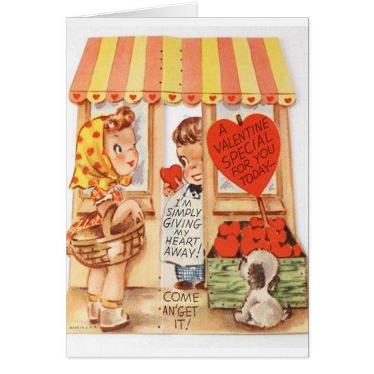 Tarjeta del el día de San Valentín del comprador d