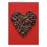 Tarjeta del el día de San Valentín del corazón del