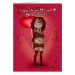 Tarjeta del el día de San Valentín del humor - Lus