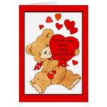 Tarjeta del el día de San Valentín para ambas mis