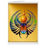 Tarjeta del escarabajo