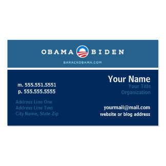Tarjeta del establecimiento de una red de la campa tarjeta de visita