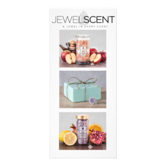 Tarjeta del estante de JewelScent Diseños De Tarjetas Publicitarias