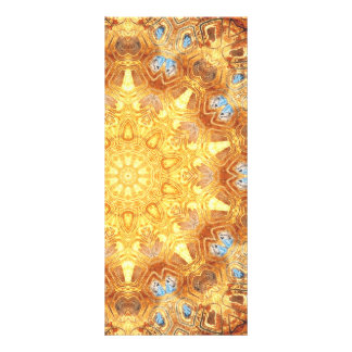 Tarjeta del estante de la mandala de la renovación tarjetas publicitarias a todo color