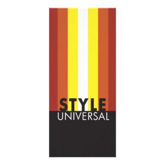 tarjeta del estante de los stylelines lonas