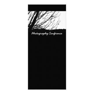 Tarjeta del estante del árbol lona publicitaria