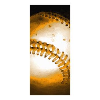 """Tarjeta del estante del béisbol folleto publicitario 4"""" x 9"""""""