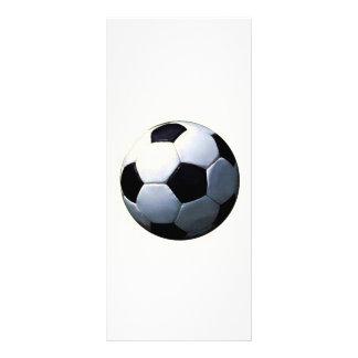"""Tarjeta del estante del fútbol folleto publicitario 4"""" x 9"""""""