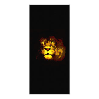 Tarjeta del estante del león tarjeta publicitaria personalizada