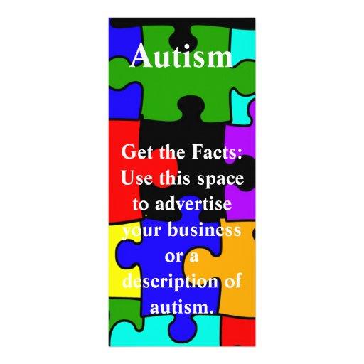 tarjeta del estante del pedazo del rompecabezas de tarjetas publicitarias personalizadas