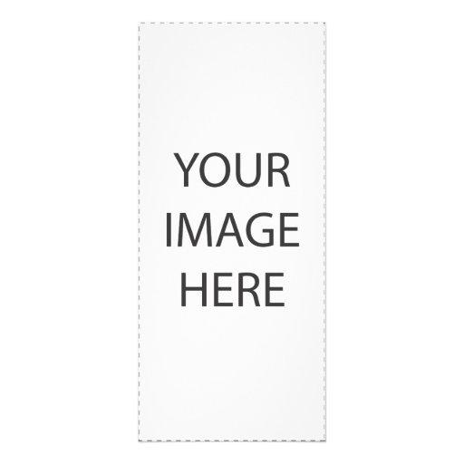 Tarjeta del estante lona publicitaria