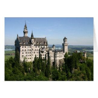 Tarjeta del estreno de una casa del castillo