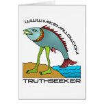 TARJETA DEL EVOLUTIONIST TRUTHSEEKER