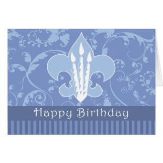 Tarjeta del feliz cumpleaños de BSA