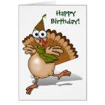 Tarjeta del feliz cumpleaños de Turquía