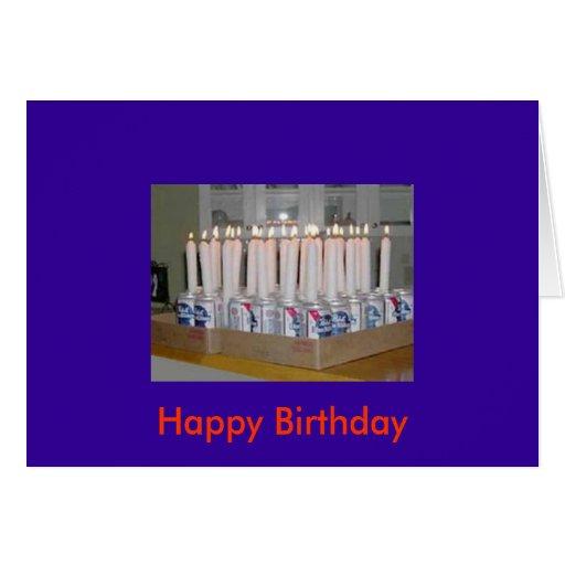 Tarjeta del feliz cumpleaños del campesino sureño
