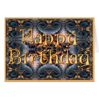 Tarjeta del feliz cumpleaños (M213)