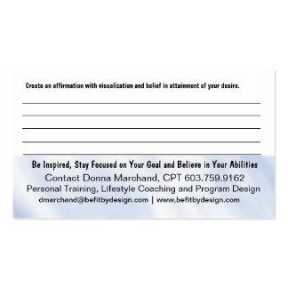 Tarjeta del folleto de la fe tarjetas de visita
