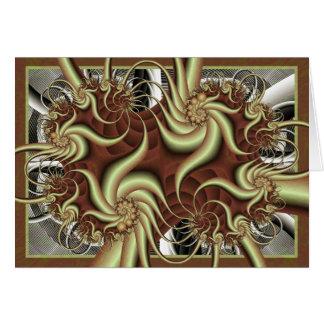Tarjeta del fractal